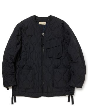 NYLON POPLIN PACIFISM PUFF JACKET