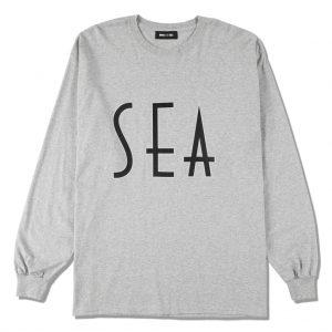 SEA (wavy) L/S T-SHIRT