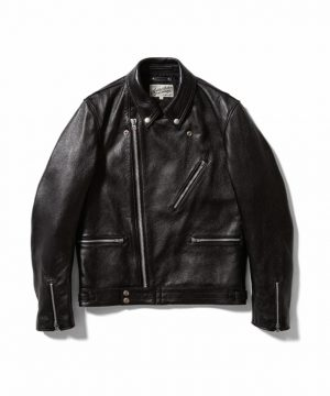 ADDICT CLOTHES*MINED Leather Riders JKT