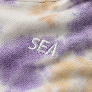 SEA (tie-dye) HOODIE