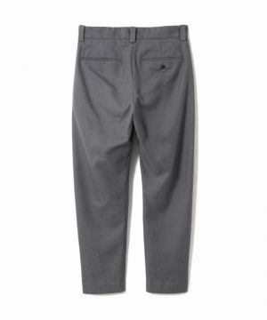 Wool Tuck Pants – Easy Fit Tapered