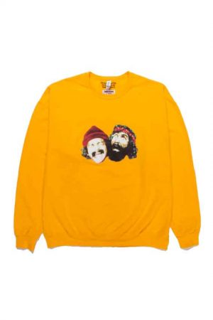 UP IN SMOKE /CREW NECK SWEAT SHIRTS(TPE-2)