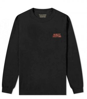 CREW NECK LONG SLEEVE T-SHIRT ( TYPE-2 )