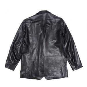 LEATHER WESTERN JACKET ( TYPE-1 )