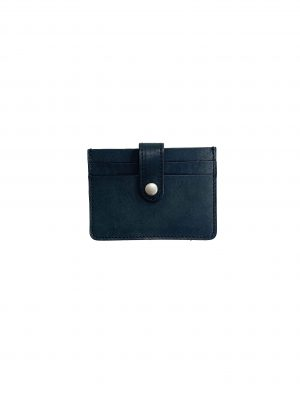 NUBUCK COW LEATHER DOUBLE SNAP WALLET