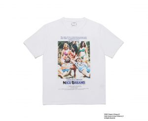 NICE DREAMS / WASHED HEAVY WEIGHT T-SHIRT(TYPE-1)