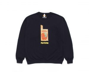 PULP FICTION / CREW NECK SWEAT SHIRT ( TYPE-2 )