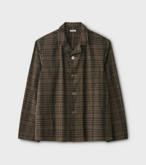 SEERSUCKER CHECK SACK JACKET