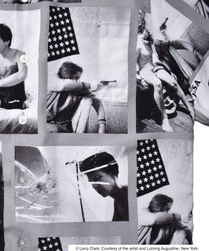 """LARRY CLARK """"TULSA"""" / S/S HAWAIIAN SHIRT ( TYPE-2 )"""