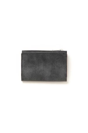 TRIFOLD COMPACT WALLET OILED COW LEATHER