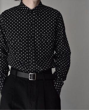 Simple Dot Denim Weatern SH